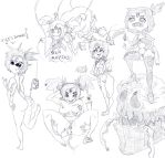 Lewd Muffet doodles by HUNKHANKS
