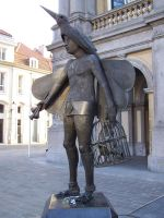 Brugges Statue of Papageno by oakroom48