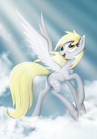 [MLP] Flying above the clouds by Ardas91