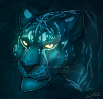 Blue Kitty by urealistisk