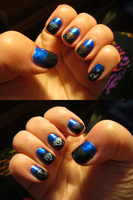 Hidden Palace Themed Nails by Sakura-Courage-Solo
