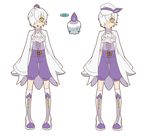 Pokemon Gijinka Litwick by Sorhken