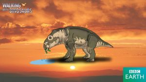 Walking with Dinosaurs: Placerias by TrefRex