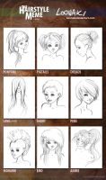 Hairstyle Meme by Loonaki