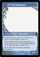 MtG: Ice Sea Elemental by Overlord-J