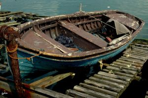 old-boat by photoddler