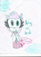 Amy as Ariel by CatsvsDogs123