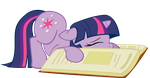 Sleepy Twi by Somepony