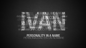 Personality in a name by IvanChenChan