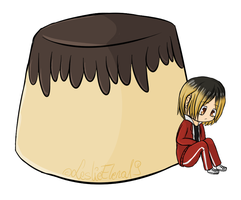 Our little Pudding-chan~~ by LeslieElena19