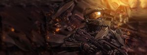 Halomaster chief mini by HACKSDENM3RK