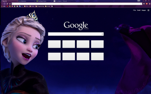 The Cold Never Bothered Me, Anyway - Chrome Theme by Tumthe3