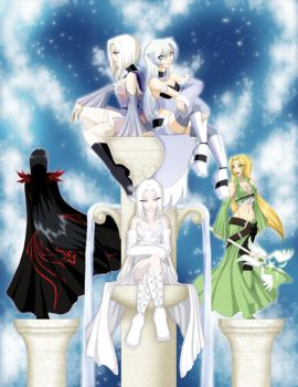 .: White Hearts: Reloaded :. by ToxicStarStudio