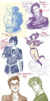 one more long Korra dump. by viria13