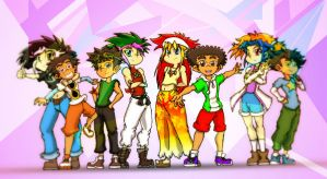 ARC-V: Picture Pose by JayLee2014
