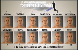 HS Real Expressions for G2M + G2F -FREEBIE by HeavenSkies