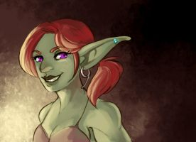 [commission] goblin girl by SirMeo