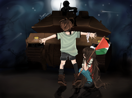 Children of Palestine by Sumaia-Alamoodi