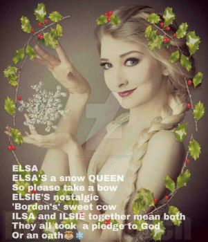 ELSA  *Girl's Name Poems by huntermarch
