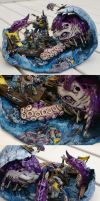 Space Wolves Vs. Kraken by TheLandoBros