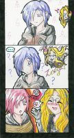 Never Ever Dye Zexion his hair by Saria-chan