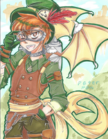 commish // steampunk peter pan by CaptainJellyroll