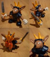 Sparkster Figurine by Jelle-C