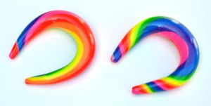 Rainbow Gauges 003 by Dabstar