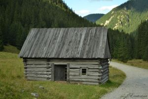 the Tatras '11 - a little shed by Ecaterina13