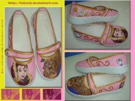 Beauty and the Beast Shoes by Fufuria