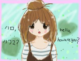 hello / how are you? by PretzelRizzo
