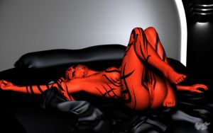 Morning Stretch - Darth Talon by darthhell