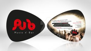 Flyer Pub Music n' Bar by RogerLima