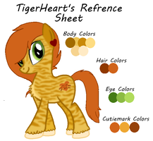 TigerHeart's Refrence Sheet by JewelThePonyLover12