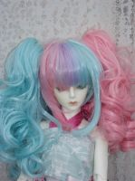 Showing off new wig by Kyomu-Magia