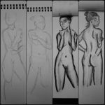 Figure Drawing Sketches by jmnettlesjr