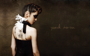 Park Bom: Dark Beauty by iyuhsnehc