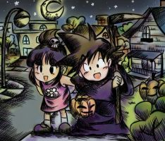 Happy Halloween 2010 DB by wernwern