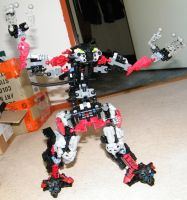 LEGO Mecha -unfinished- 2 by MikeSinner
