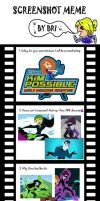 Screenshot meme: Kim Possible by Bloosom