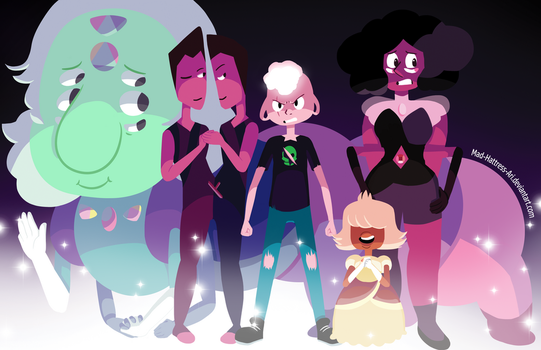 Off Color Gem Squad by Mad-Hattress-Ari