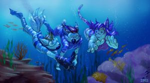 Deep Sea Diving by MKbuster