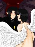 The Angel and the Devil by kagomelovesinu