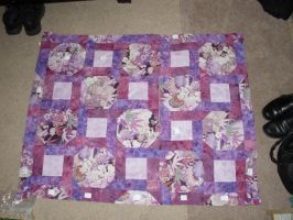 Mira's Quilt - Finished Center by setralynn