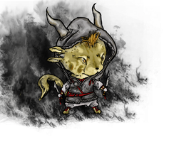 GW2 Charr Thief by NepiCanis