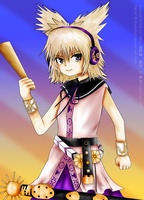 Touhou Project: Toyosatomimi no Miko by CryogenicCereal