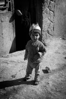 child Playing on the streets by Anmar-Studio