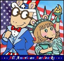 All-American Aardvarks by BakerChemi