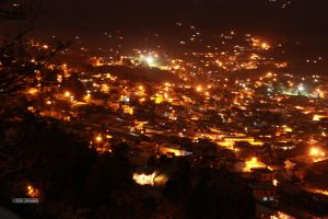 Pithoragarh at Night 2 by himphotography