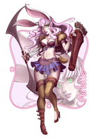 Commission - Bunny Archer (RPG Character) by feh-rodrigues